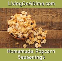 homemade popcorn seasonings