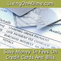 Save money on credit card fees and late fees!