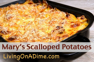 Mary's Scalloped Potatoes Recipe