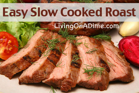 Easy Slow Cooked Beef Roast Recipe