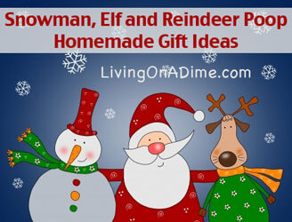 Snowman Poop, Elf Poop and Reindeer Poop - Homemade Christmas Gift Ideas