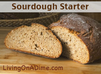 Potato Flake Sourdough Starter Bread
