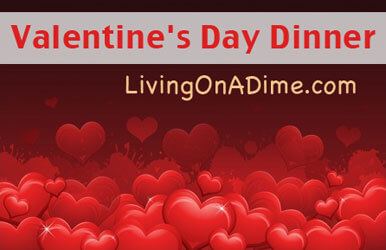 Valentine 39 s day dinner for two easy menu and recipes for Simple valentines day dinner