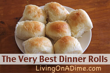 The Very Best Dinner Rolls Recipe