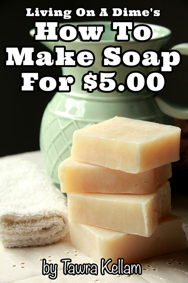 You can make homemade soap easily in your own home in just a few short minutes and why you don't need to be afraid to use lye! This How To Make Soap For Beginners e-course makes it easy!