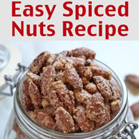 Easy Spiced Nuts Recipe