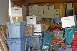 Clean up that cluttered storage space!