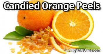 Candied Orange Peels Recipe