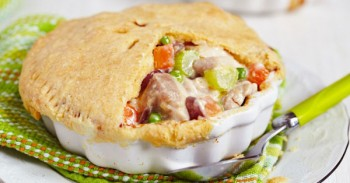 Easy Chicken or Turkey Pot Pie Recipe