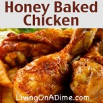 Honey-Baked Chicken Recipe
