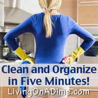 Clean and Organize in Five Minutes!