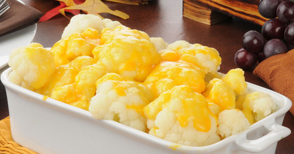Cheesy Cauliflower Recipe