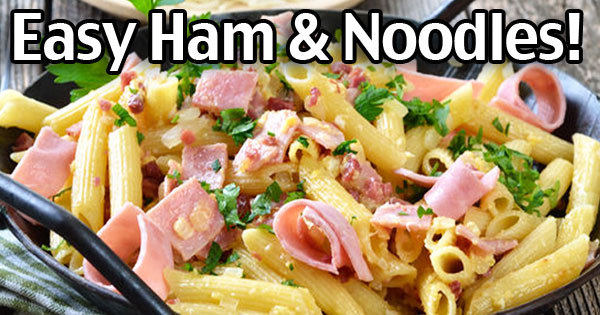 Sheala's Ham And Noodles Casserole Recipe