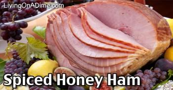 Spiced Honey Ham Recipe
