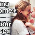 Staying At Home - It's Your Choice