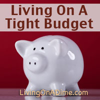 Living On A Tight Budget