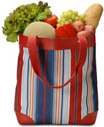 Groceries In A Sack