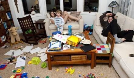 kids mess