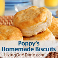 Poppy's Homemade Biscuits Recipe