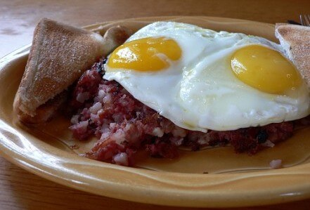 Corned beef hash leftovers misc