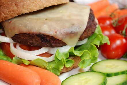 Menu-Blue Cheese Hamburgers