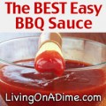 The BEST Easy Homemade Barbecue Sauce Recipe