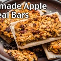 Homemade Apple Oatmeal Bars Recipe