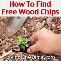 How To Find Free Wood Chips For Garden Mulch