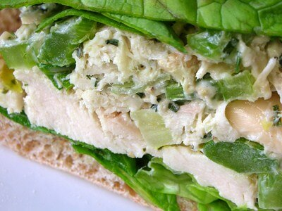 Menu-Chicken Salad Sandwiches