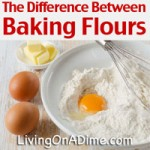 Difference Between Baking Flours