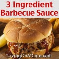 3 Ingredient Barbecue Sauce Recipe