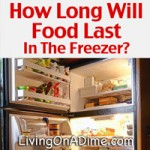 Freezer Guide – How Long Will Food Keep In The Freezer?