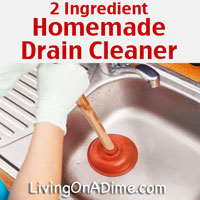 Easy Homemade Drain Cleaner And Drain Opener Recipe