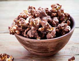 easy chocolate popcorn recipe
