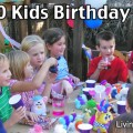 Cheap Kids Birthday Party Ideas - $20 Birthday Party!