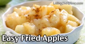 Easy Homemade Fried Apples Recipe