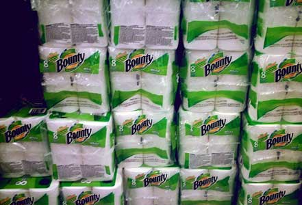 Save money on paper towels - how to use rags