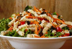 quick and easy pasta veggie salad