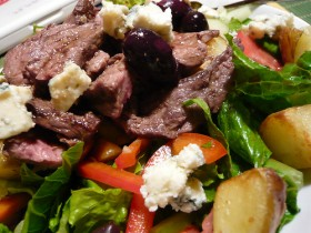 quick and easy steak salad