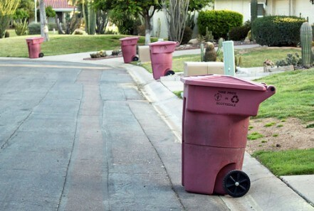 trash service