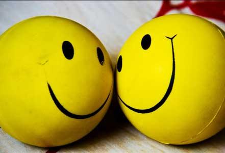 share encouragement - smile