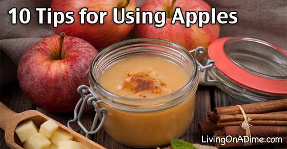 10 Tips for Using Apples