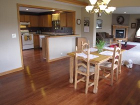 house for sale kitchen and dining room