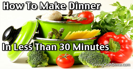 Make After Dinner Cleanup Faster