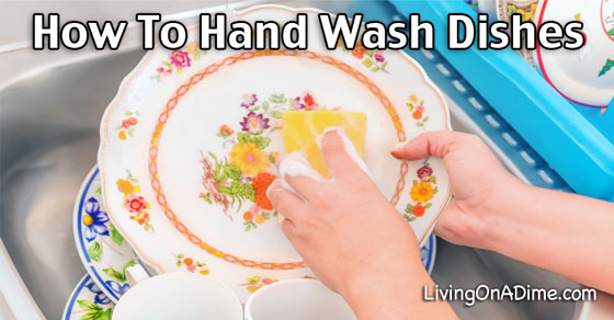 How To Hand Wash Dishes A Step By Step Guide