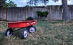 little red wagon - radio flyer