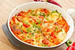 parmesan baked tomatoes recipe