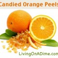 candied orange peels recipe