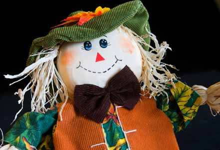 Cute Halloween Scarecrow