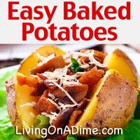 How To Bake A Potato - Easy Baked Potatoes Recipes